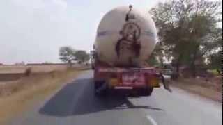 Gas Truck Driver Fail