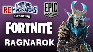 "Brylander ""Unlocks"" (Creates) RAGNAROK Skin from Fortnite 🔴 in Skylanders Imaginators!"