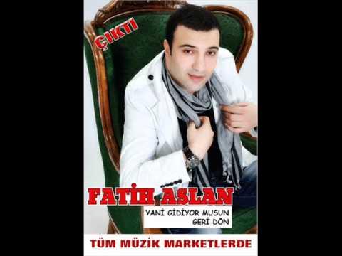 Fatih Aslan - Gadan Alam '' Gönül Derdi '' ( 2012 ) ** Yani Gidiyormusun Albüm**