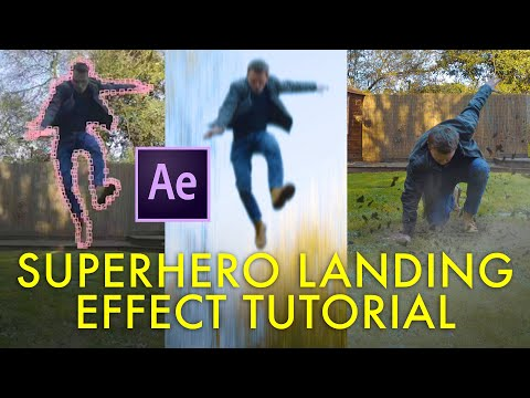 SUPERHERO LANDING effect