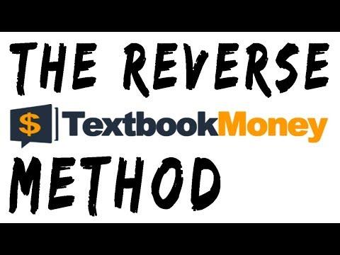 Reverse Textbook Money Method Demo Book Arbitrage Pro Tip Review