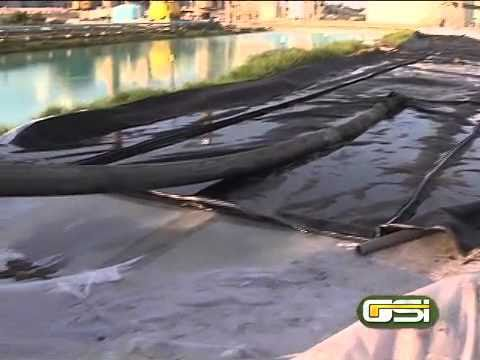 Geotextile Tube Dewatering