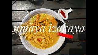 umaya izakaya for the ramen move | m u k b a n g | dc food tour