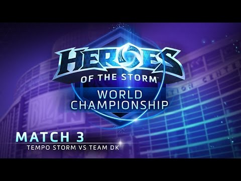 Tempo Storm vs Team DK - Match 3 - Heroes of the Storm World Championship
