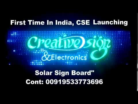 LED Sign Board Dance music