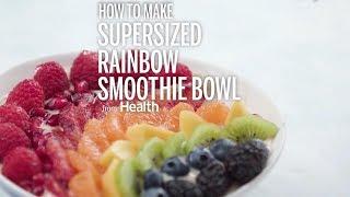 Supersized Fruit Rainbow Smoothie Bowl   Health