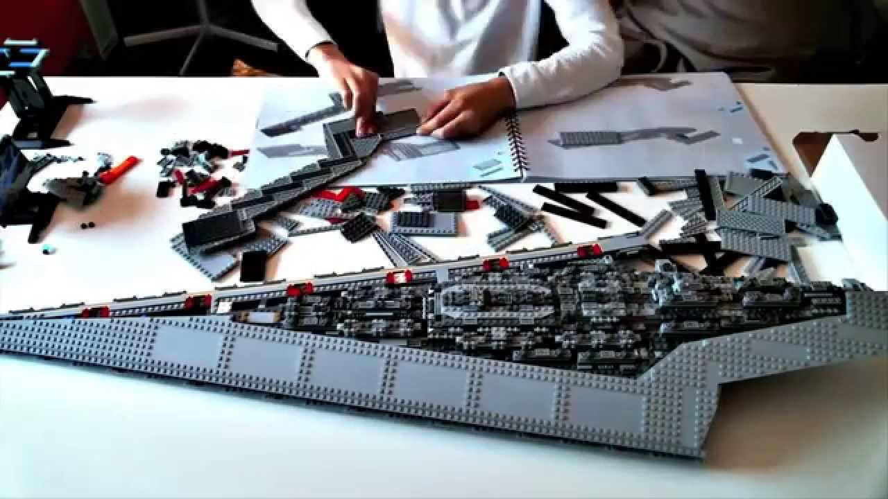 Lego Imperial Star Destroyer Speed Build
