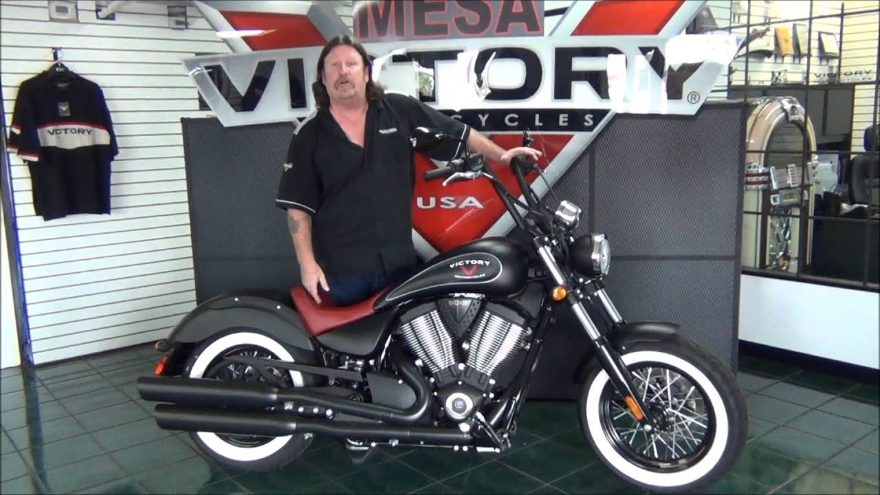2015 victory highball with redseat at victory of mesa