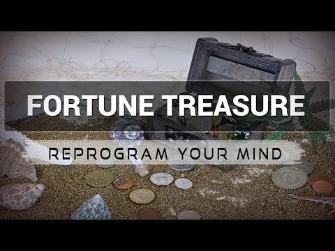 Fortune Treasure affirmations mp3 music audio  Law of attraction  Hypnosis  Subliminal