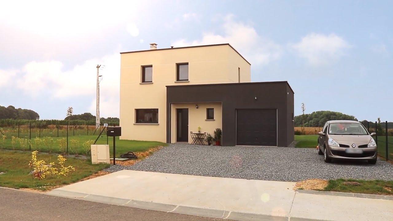 Maison Contemporaine Toit Terrasse reportage clients - maisons extraco - maison contemporaine à toit plat