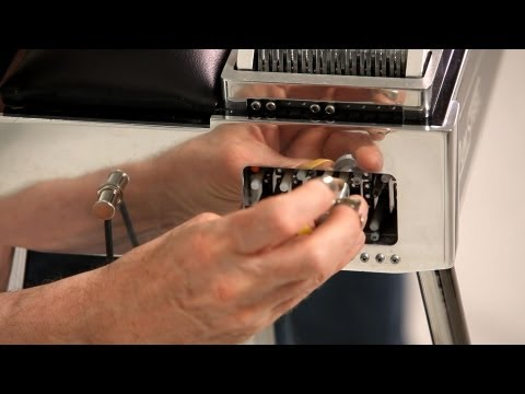 How to Tune the Knee Levers | Pedal Steel Guitar