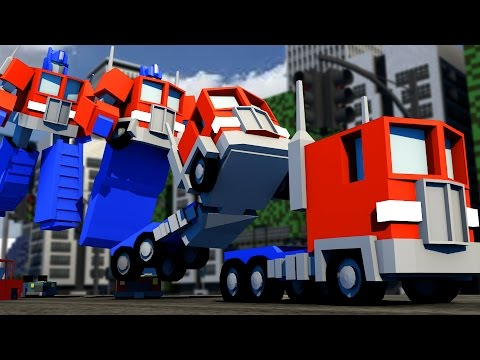 Minecraft | OPTIMUS PRIME TRANSFORMER! Transformers Mod Showcase! (Transformers in Minecraft)