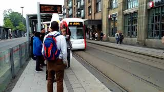 krefeld germany - krefeld germany - tram view, Europe - we are going to europe!!nrw germany -