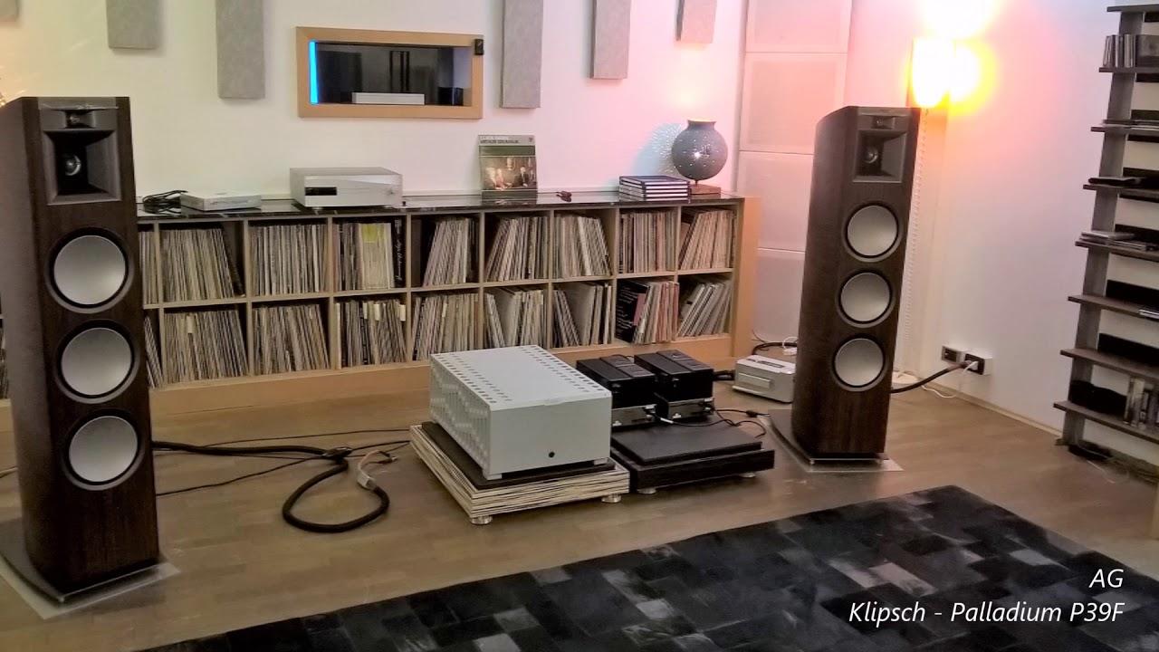 klipsch palladium p39f youtube. Black Bedroom Furniture Sets. Home Design Ideas