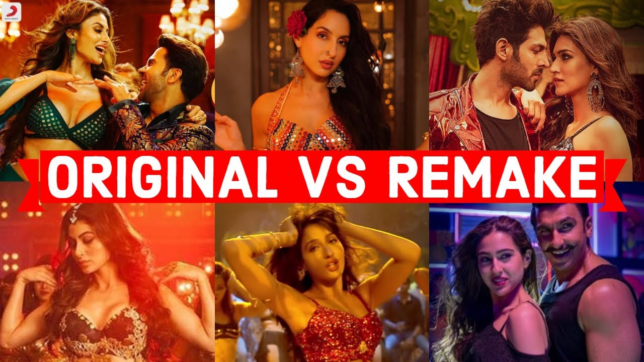 2019/2018 Neha Kakkar Bollywood Remake Songs | Original Vs Remake - Which Song Do You Like the Most?