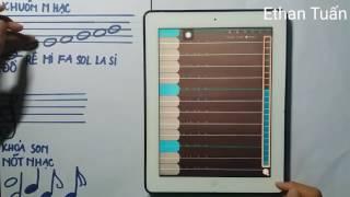 Hướng dẫn xác định các nốt nhạc | Nhạc lí cơ bản #1 | Ethan Tuấn