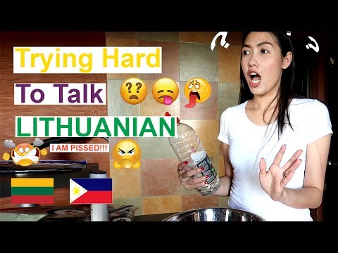 Lithuanian Words are So Difficult!!! || DailyVlog(PinayVlog)| it'srofa
