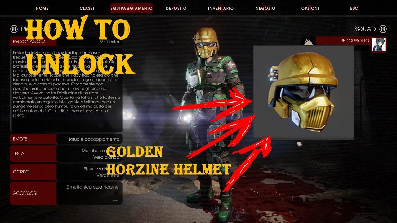 How To Unlock Gold Horzine Helmet Halloween Event