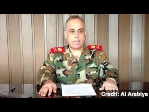 High-Ranking Syrian General Defects to Free Syrian Army