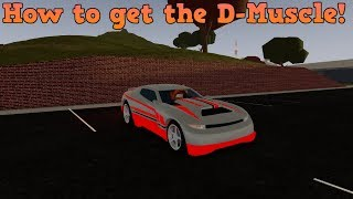 HOW TO GET THE D-MUSCLE! | ROBLOX: Vehicle Simulator Hotwheels