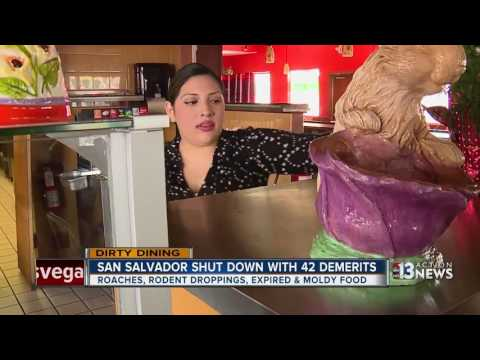 Spoiled food and more at San Salvador on Dirty Dining