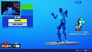 FORTNITE BOUTIQUE of AUGUST 31, 2019! BACK OF SKIN CABOT!