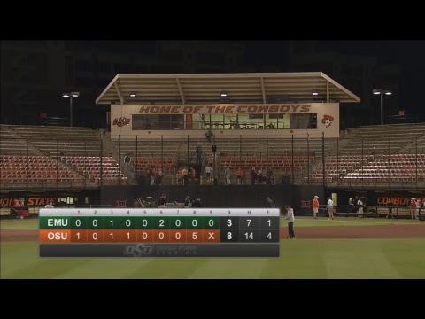 Oklahoma State Cowboy Baseball vs. Eastern Michigan (Game 1)