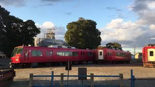[さようなら、5308f…]東名古屋港に置いてある名鉄5300系 5308fの廃車体を見に行きました。
