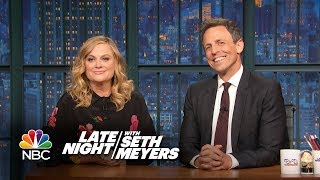 Really!?! with Seth and Amy: Julius Caesar Protests by : Late Night with Seth Meyers