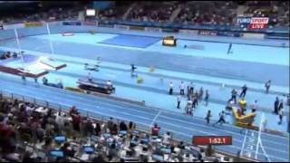4x400m Relay Men Final - World Record By USA - World Indoor Championships in Sopot 2014