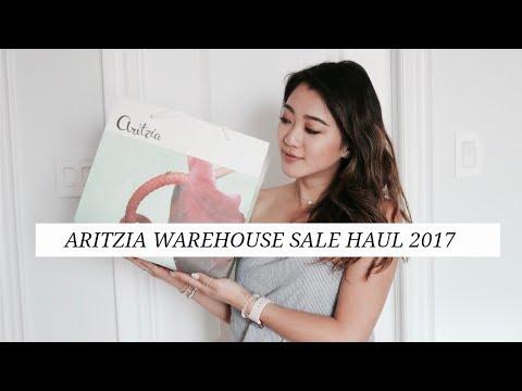 ARITZIA WAREHOUSE SALE HAUL 2017  | getawei