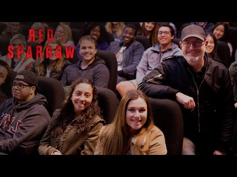 Red Sparrow   Night College Q&A with Director Francis Lawrence  20th Century FOX