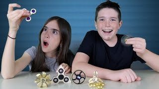 ULTIMATE FIDGET SPINNER FREAKOUT!