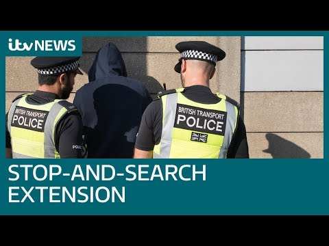 Boris Johnson announces extension for stop-and-search powers | ITV News
