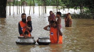ভয়াবহ বন্যায় চরম বিপর্যস্ত জনজীবন   Flood in Bangladesh   Somoy TV