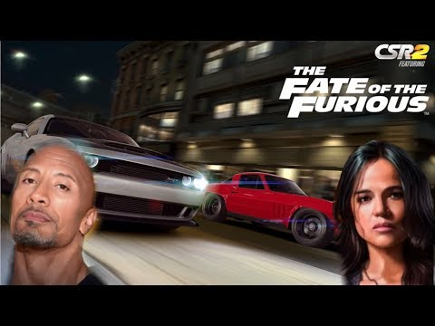 new the fate of the furious cars csr racing 2 youtube. Black Bedroom Furniture Sets. Home Design Ideas