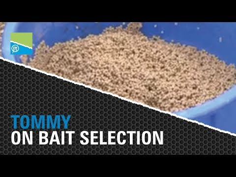 Tommy Pickering on Bait Selection