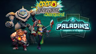 MMO Grinder Sidequest: Paladins (Closed Beta)