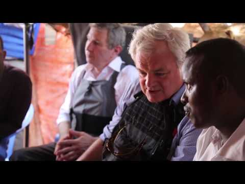 UN humanitarian chief Stephen O'Brien visits Somalia