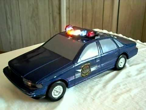 Wooden Toy Cars >> Toy Michigan State Police Car - YouTube
