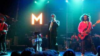 Mayer Hawthorne - I Wish It Would Rain (NYC Terminal 5 on 11/5/11)