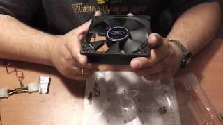 Вентилятор для корпуса Deep Cool XFAN 120 - Обзор и ИМХО