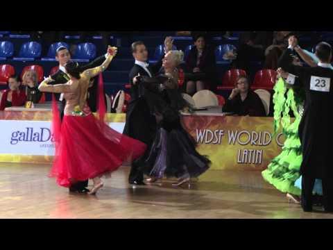 Jin Xing - Meng Wang, 1/4 Viennese Waltz