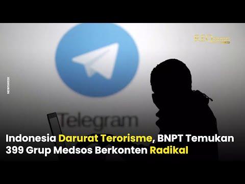 BNPT Temukan Ratusan Grup Medsos Berkonten Radikal