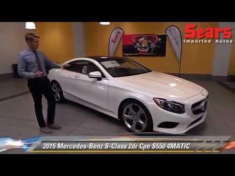 New 2015 mercedes benz s class s550 4matic minnetonka for Mercedes benz bloomington mn