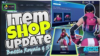 🆕MenamesCho's LIVE 🔵 *NEW* BACHII SKIN 💥 ITEM SHOP UPDATE ⚡Fortnite Battle Royale 29th July 2019