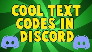 How to get coloured texts on discord!!!!