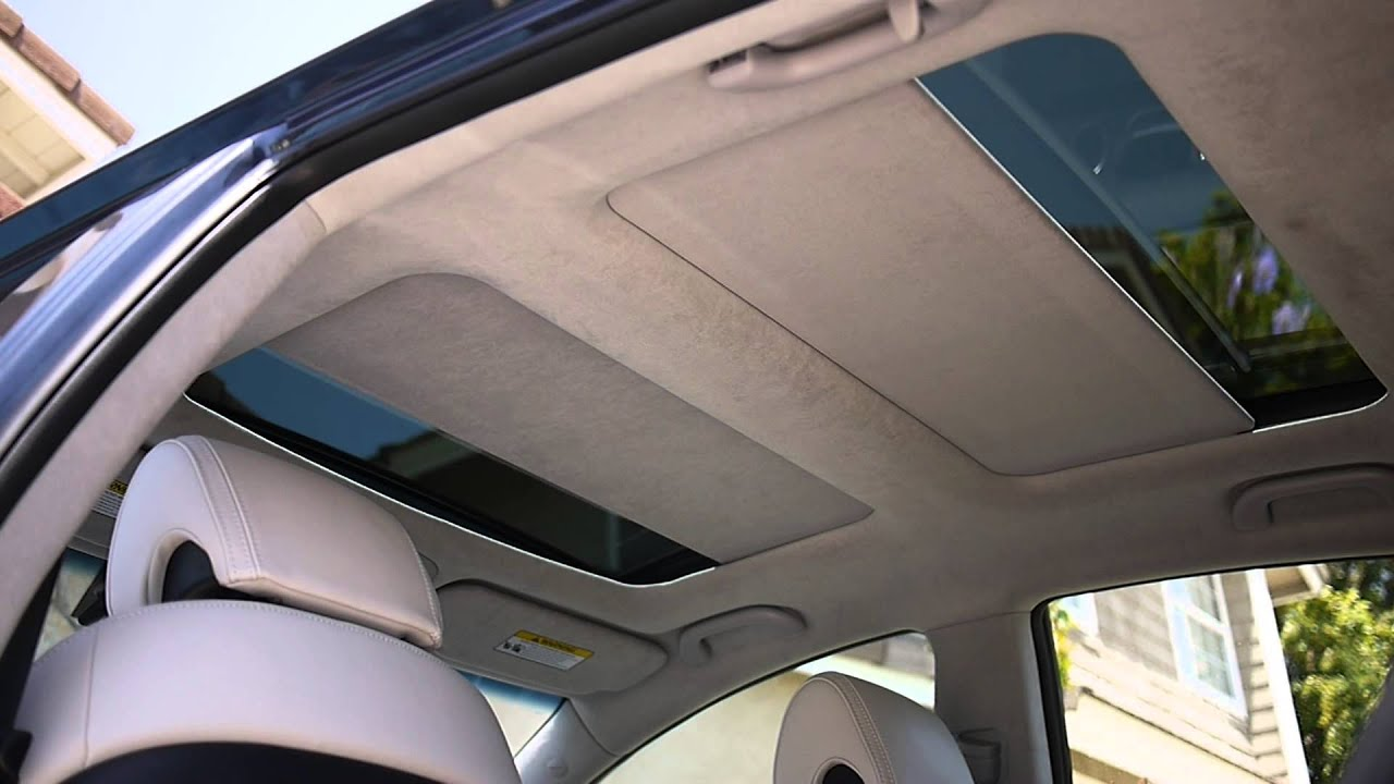 KIA CADENZA K7 Panoramic Sunroof - YouTube
