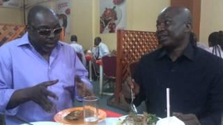 Mwana-Diaspora Benja wa Kijiwe cha Ughaibuni ndani ya Dar!