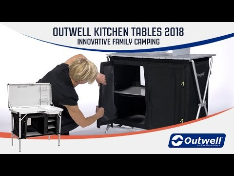 Outwell Kitchen Tables 2018 | Innovative Family Camping